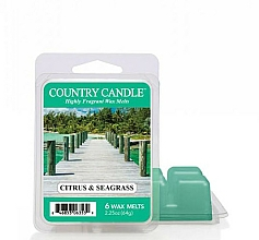Kup Wosk zapachowy - Country Candle Citrus & Seagrass Wax Melts