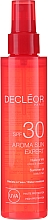 Kup Olejek do ciała i włosów SPF 30 - Decleor Aroma Sun Expert Summer Oil