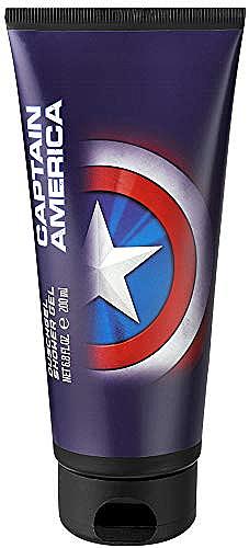 Żel pod prysznic dla dzieci - Marvel Captain America Shower Gel — фото N1