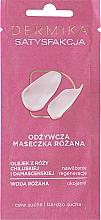 Kup Odżywcza maseczka różana do cery suchej i bardzo suchej Satysfakcja - Dermika Rose Nourishing Mask Satisfaction