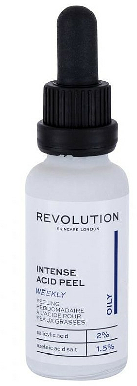 Peeling do skóry mieszanej i tłustej - Revolution Skincare Intense Acid Peel Oily — фото N1