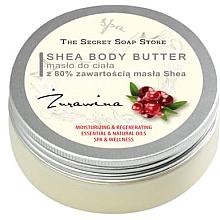 Kup PRZECENA! Masło do ciała z 80% zawartością masła shea Żurawina - The Secret Soap Store Body Butter *