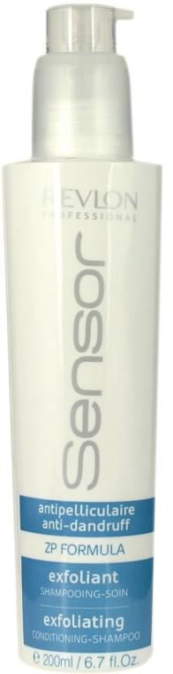 Złuszczający szampon do włosów i skóry głowy - Revlon Professional Sensor Shampoo Exfoliating