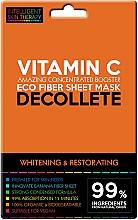 Kup Ekspresowa maska do dekoltu - Beauty Face IST Whitening & Restorating Decolette Mask Vitamin C