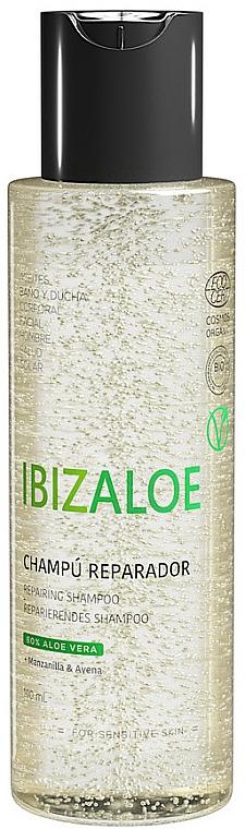 Regenerujący szampon do włosów - Ibizaloe Moisturizing Shampoo — фото N1