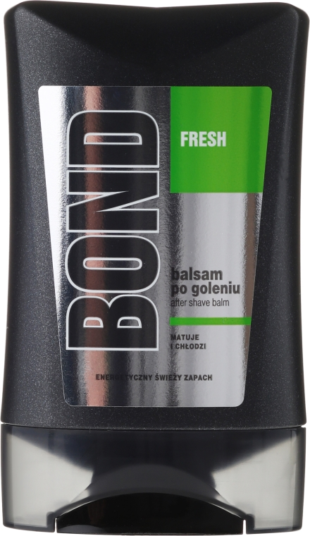 Perfumowany balsam po goleniu - Bond Fresh After Shave Balm — фото N2