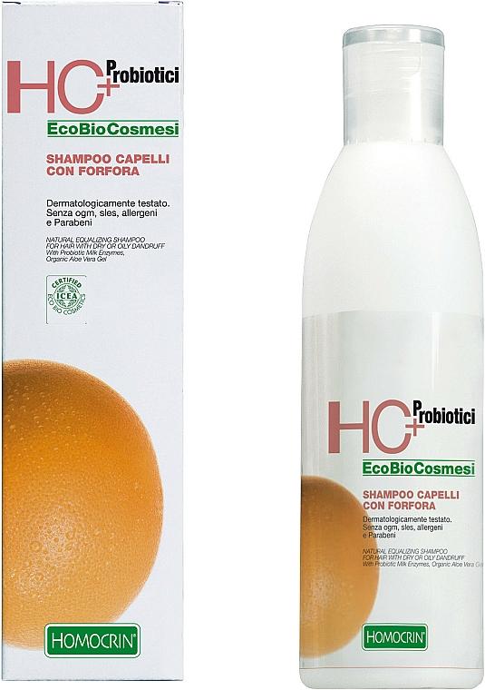 Szampon przeciwłupieżowy - Specchiasol HC+ Shampoo With Dry Dandruff And Oily For Hair — фото N1