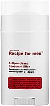 Kup Antyperspirant w sztyfcie dla mężczyzn - Recipe For Men Antiperspirant Deodorant Stick