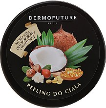 Kup Cukrowy peeling do ciała z masłem shea i kokosowe - DermoFuture Sugar Body Scrub
