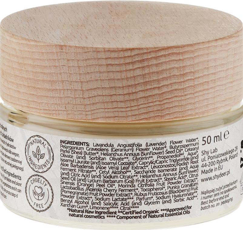 Naturalny krem-maska anti-aging na dzień i noc - Shy Deer Natural Cream-mask — фото N2