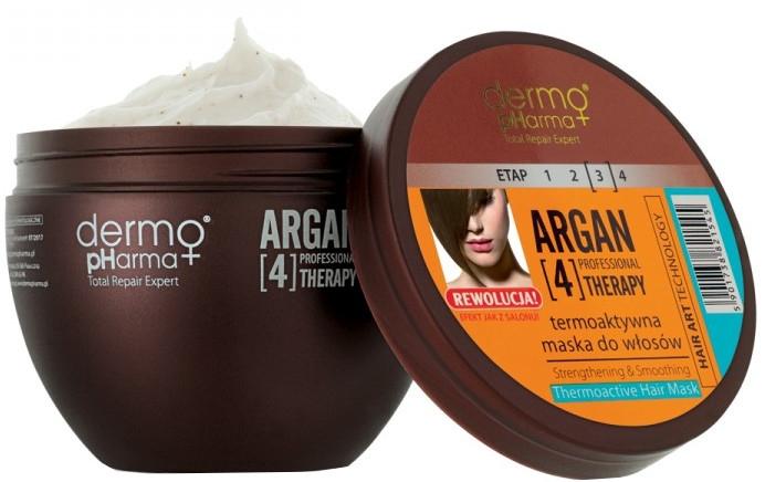 Termoaktywna maska do włosów - Dermo Pharma Professional Argan[4]Therapy