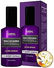 Kup Ultraserum do włosów Ambra i wanilia - Kundal Macadamia Amber Vanilla Ultra Serum