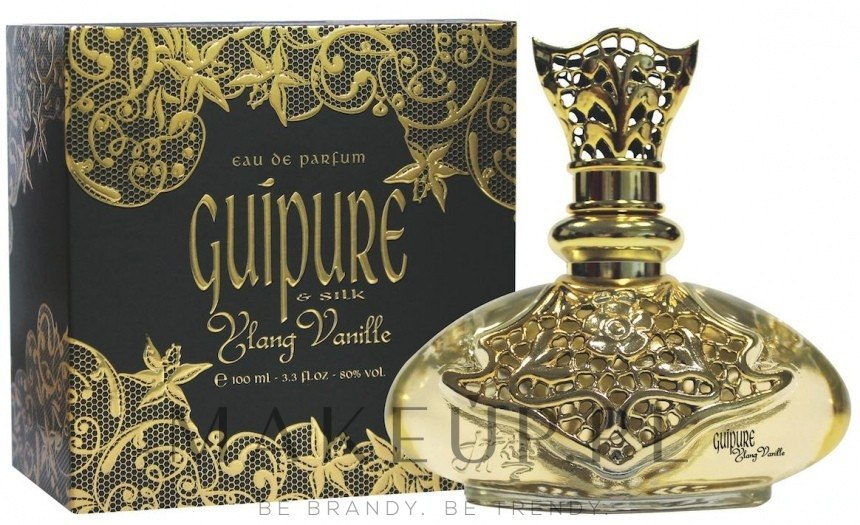 jeanne arthes guipure & silk ylang vanille