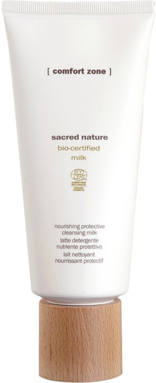 Tonizujące mleczko do demakijażu - Comfort Zone Sacred Nature Bio-Certified Cleansing Milk — фото N2