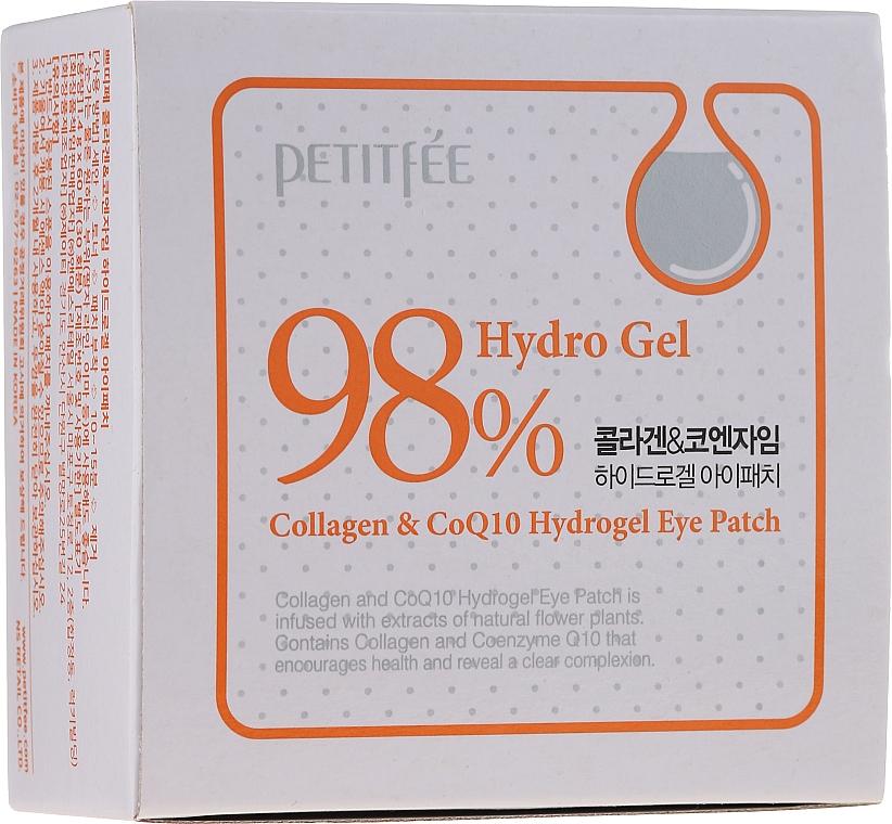Hydrożelowe płatki pod oczy z kolagenem i koenzymem - Petitfee & Koelf Collagen & Co Q10 Hydrogel Eye Patch