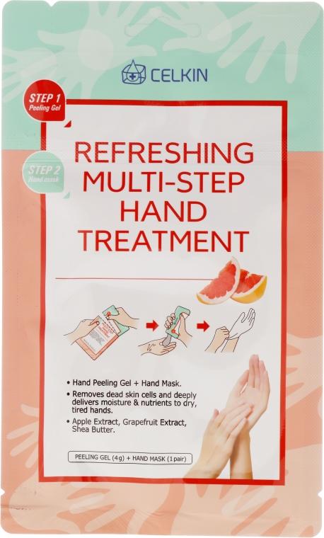 Odświeżająca kilkustopniowa kuracja do rąk - Celkin Refreshing Multi Step Hand Treatment — фото N1