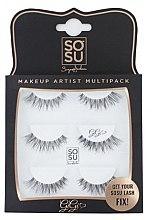 Kup Zestaw sztucznych rzęs Gigi - Sosu by SJ Makeup Artist Multipack Eyelashes