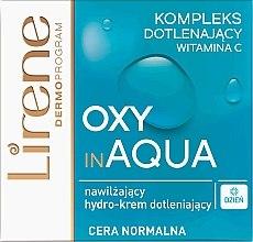 Kup Nawilżający hydro-krem dotleniający do cery normalnej - Lirene Dermo Program Oxy In Aqua Vitamin C