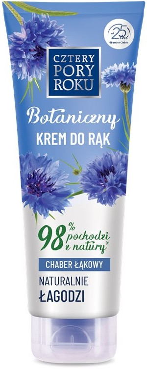 Botaniczny łagodzący krem do rąk Chaber łąkowy - Cztery Pory Roku Botanical Soothing Hand Cream — фото N1