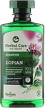 Kup Szampon do włosów tłustych u nasady i suchych na końcach Łopian - Farmona Herbal Care