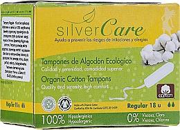 Kup Tampony z bawełny organicznej, Regular, 18szt - Masmi Silver Care