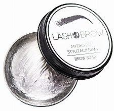 Mydło do stylizacji brwi - Lash Brow Soap — фото N3