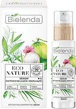Kup Serum w witaminą C - Bielenda Eco Nature Coconut Water Green Tea & Lemongrass Detox & Mattifyng Serum