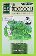 Kup Maska do twarzy w płachcie z ekstraktem z brokuła - Mediental Botanic Garden Mask