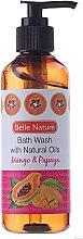 Kup Żel pod prysznic z naturalnymi olejami o zapachu mango z papają - Belle Nature Bath Wash Mango&Papaya