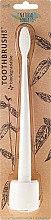 Kup Miękka szczoteczka do zębów dla dzieci - The Natural Family Co Bio Brush & Stand Ivory Desert