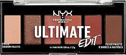 Paletka cieni do powiek - NYX Professional Makeup Ultimate Edit Petite Shadow Palette — фото N5