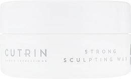 Wosk do stylizacji włosów - Cutrin Muoto Strong Sculpting Wax — фото N2