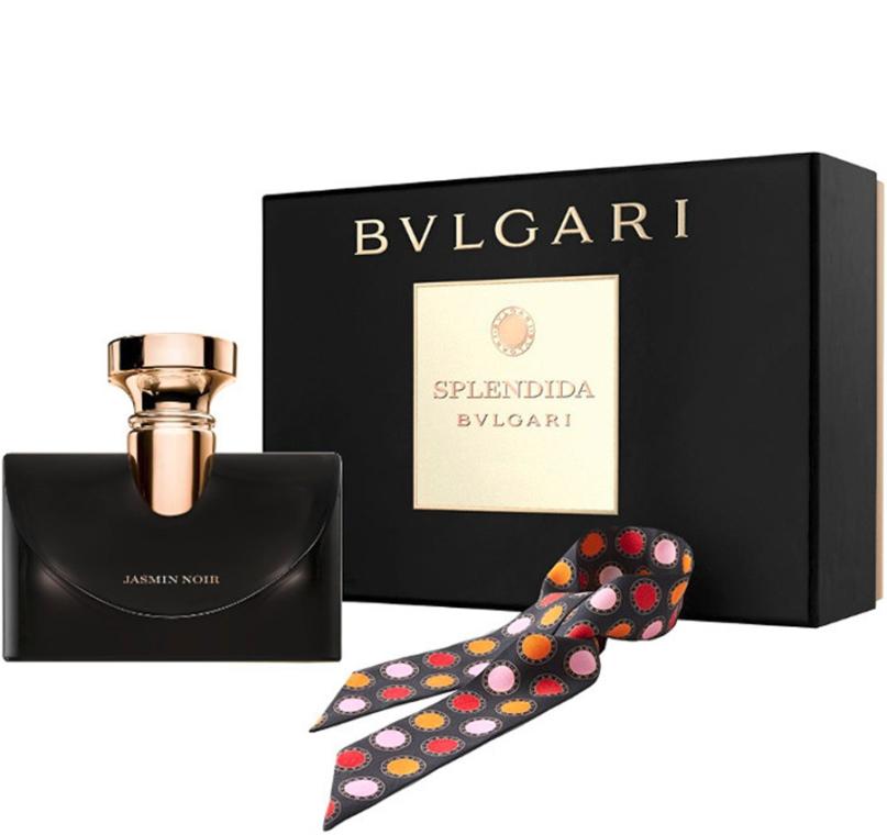 Bvlgari Splendida Jasmin Noir - Zestaw (edp/100ml + scarves)