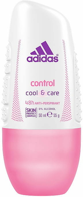 Antyperspirant w kulce - Adidas Control Cool & Care