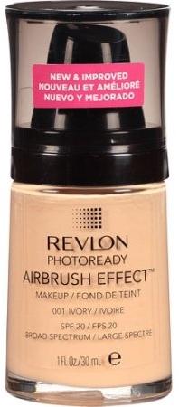 Lekki podkład w płynie - Revlon Photoready Airbrush Effect Foundation SPF 20