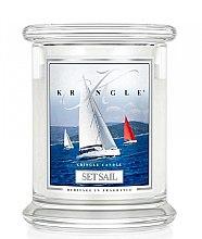 Kup Świeca zapachowa w słoiku - Kringle Candle Set Sail