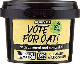 Kup Oczyszczająca maska peelingująca do twarzy - Beauty Jar Vote For Oat! Cleansing Mask-Scrub