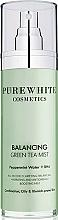 Kup Kojąca mgiełka do twarzy - Pure White Cosmetics Balancing Green Tea Mist