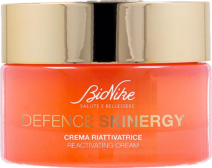 Krem do twarzy o potrójnym działaniu - BioNike Defence Skinergy Reactivating Cream — фото N1
