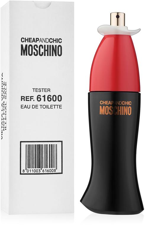 Moschino Cheap And Chic - Woda toaletowa (tester bez nakrętki) — фото N2