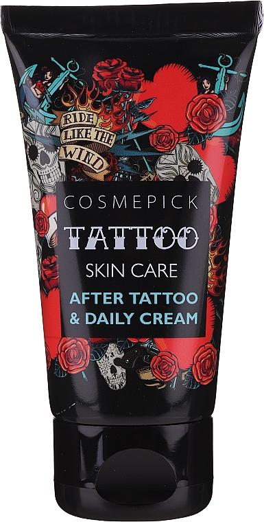 Krem ochronny do pielęgnacji tatuaży - Cosmepick Tattoo Skin Care Aftrer Tattoo&Daily Cream — фото N3