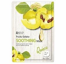 Kup Kojąca maseczka w płachcie do twarzy z pigwą - SNP Fruits Gelato Soothing Mask
