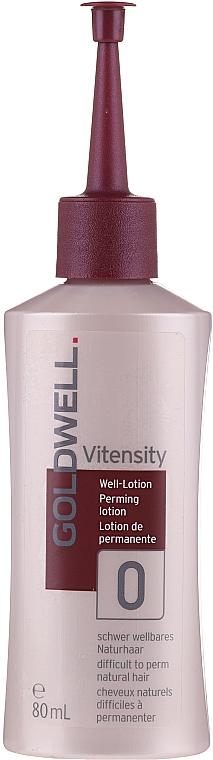 Płyn do trwałej ondulacji do włosów naturalnych i mocnych - Goldwell Vitensity Performing Lotion 0 — фото N1