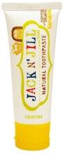 Kup Naturalna pasta do zębów dla dzieci Banan - Jack N' Jill Toothpaste Banana
