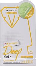 Kup Zielona maska z mikrofibry z ekstraktem z cytryny - Dewytree Whitening Deep Mask