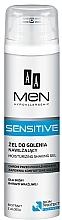 Kup Nawilżający żel do golenia do skóry bardzo wrażliwej - AA Men Sensitive