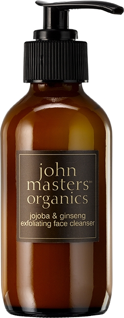 Złuszczająca pianka do mycia twarzy Jojoba i żeń-szeń - John Masters Organics Jojoba Ginseng Exfoliating Face Wash — фото N1