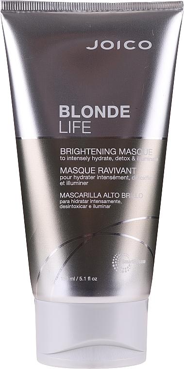 Rozświetlająca maska do włosów blond - Joico Blonde Life Brightening Mask — фото N1
