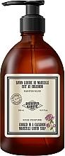 Kup Perfumowane mydło w płynie Róża - Institut Karite Rose So Vintage Marseille Liquid Soap