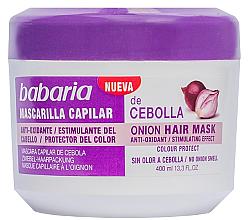 Kup Cebulowa maska na porost włosów - Babaria Onion Hair Mask